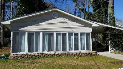 Surfside Beach SC Single Family Home Sold: $184,000