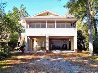 Murrells Inlet Single Family Home For Sale: 3714 Jordan Landing Road