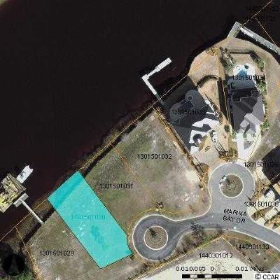 Georgetown County, Horry County Residential Lots & Land For Sale: Lot 2 Marina Bay Dr.