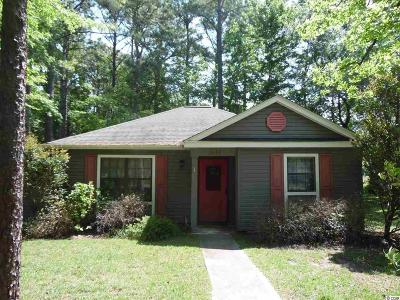 Myrtle Beach SC Single Family Home Sold-Co-Op By Ccar Member: $103,000