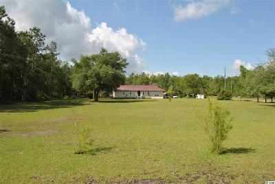 Galivants Ferry Single Family Home For Sale: 4105 Gunters Island Road