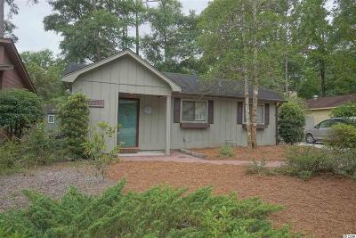 Little River SC Single Family Home Sold-Co-Op By Ccar Member: $130,500