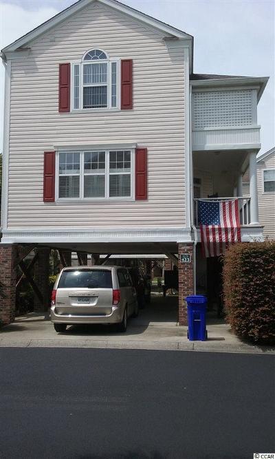 Surfside Beach Single Family Home For Sale: 423 Ocean Palms Dr.
