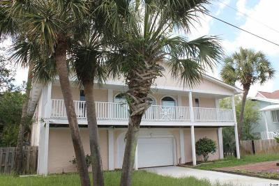 Myrtle Beach Single Family Home For Sale: 4704 S Ocean Boulevard