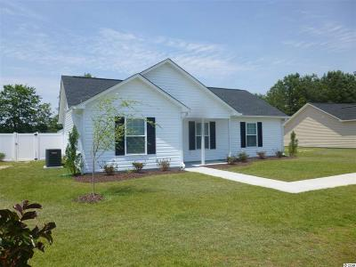 Conway SC Single Family Home Sold-Co-Op By Ccar Member: $109,000