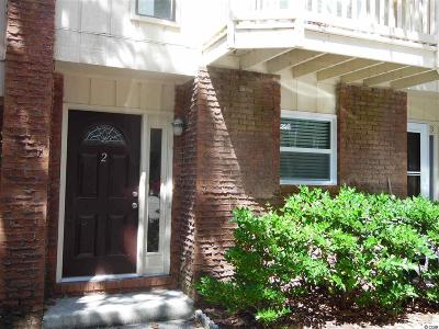 Myrtle Beach SC Condo/Townhouse Sold-Co-Op By Ccar Member: $111,000