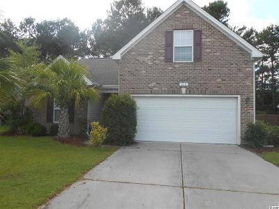 Little River Single Family Home For Sale: 213 Carriage Lake Drive