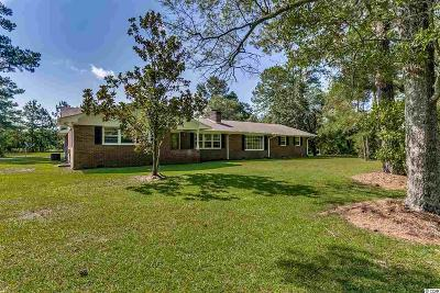 Loris Single Family Home For Sale: 850 N Hwy 701
