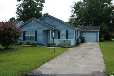 Myrtle Beach SC Single Family Home Sold-Co-Op By Ccar Member: $119,000