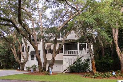 Pawleys Island Single Family Home For Sale: 18 Spinnacle Court