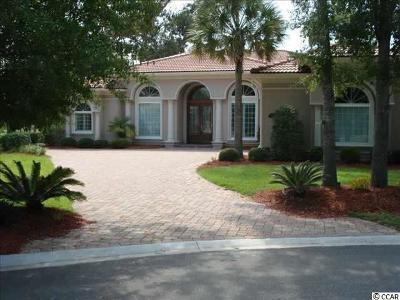 Myrtle Beach Single Family Home For Sale: 7530 Veneto Court