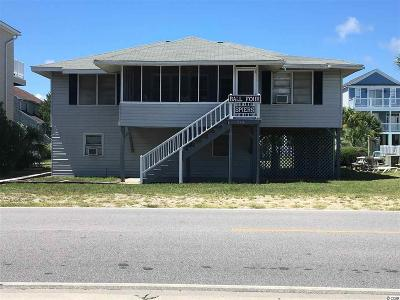 Surfside Beach Single Family Home For Sale: 214 S Ocean Blvd