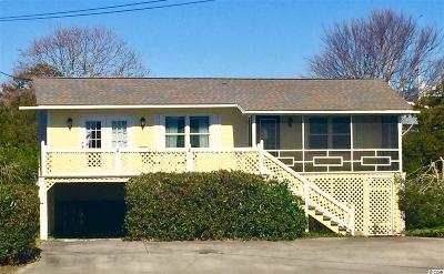 Litchfield Beach Single Family Home For Sale: 224 Norris Drive