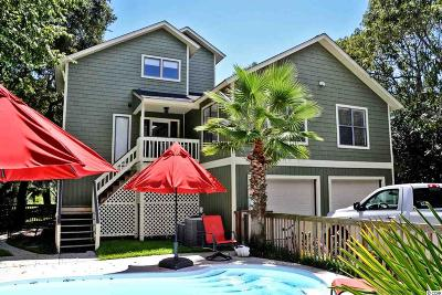 Myrtle Beach Single Family Home For Sale: 6503 N Ocean Blvd.