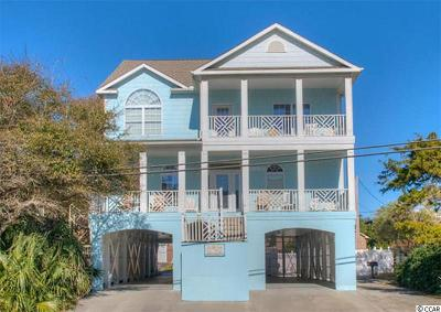 North Myrtle Beach Single Family Home For Sale: 1410 S Ocean Blvd.