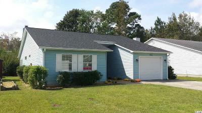 Murrells Inlet SC Single Family Home Sold: $160,000