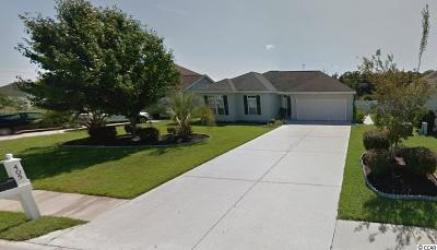 Myrtle Beach SC Single Family Home Sold: $150,000