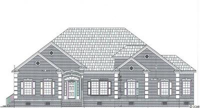 Murrells Inlet Single Family Home For Sale: Lot 23 Grey Moss Rd