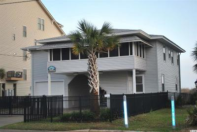 North Myrtle Beach Single Family Home For Sale: 1509 S Ocean Blvd