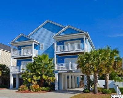 Garden City Beach Single Family Home For Sale: 142-B Seabreeze Drive