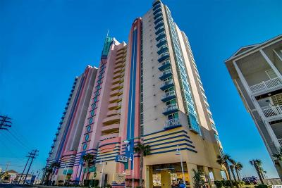 North Myrtle Beach Condo/Townhouse For Sale: 3500 N Ocean Blvd. #1801