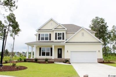 Myrtle Beach Single Family Home For Sale: Tbb9 Indigo Bay Circle
