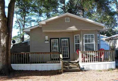 Myrtle Beach SC Single Family Home For Sale: $78,000