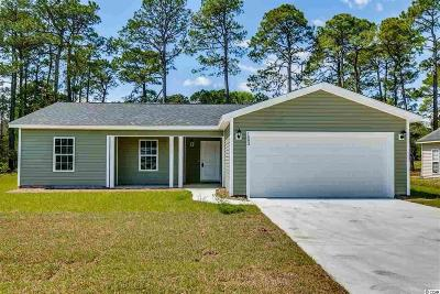 Myrtle Beach SC Single Family Home Sold: $173,000