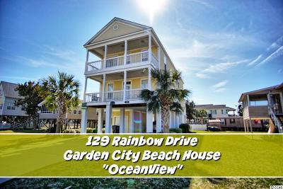 Garden City Beach SC Single Family Home For Sale: $499,500