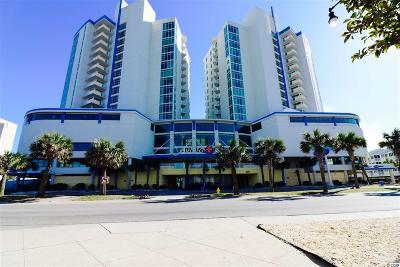 North Myrtle Beach Condo/Townhouse For Sale: 300 N Ocean Blvd #122