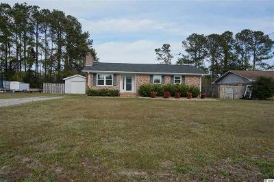 Little River SC Single Family Home Sold-Co-Op By Ccar Member: $140,000