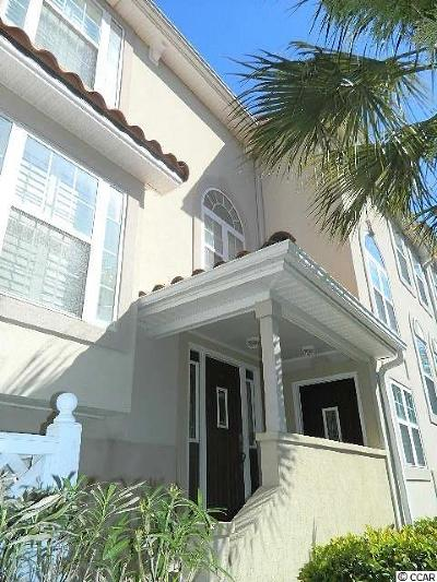 North Myrtle Beach Condo/Townhouse For Sale: 516 Hillside Drive S #103