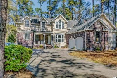 Murrells Inlet Single Family Home Active-Pending Sale - Cash Ter: 4412 St Andrews Court