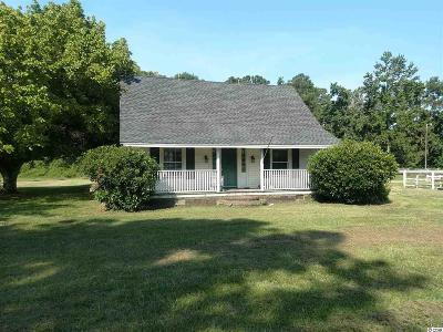 Murrells Inlet Single Family Home Active-Pend. Cntgt. On Financi: 10160 McDowell Shortcut Rd.
