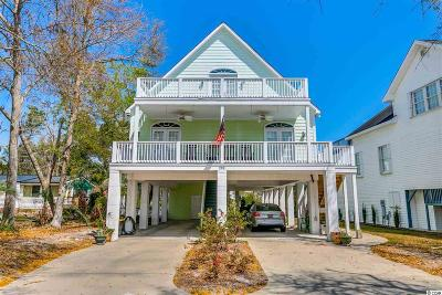 Murrells Inlet Single Family Home For Sale: 292 Cypress Avenue