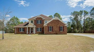 Myrtle Beach Single Family Home Active-Pend. Cntgt. On Financi: 2393 Hunters Trail
