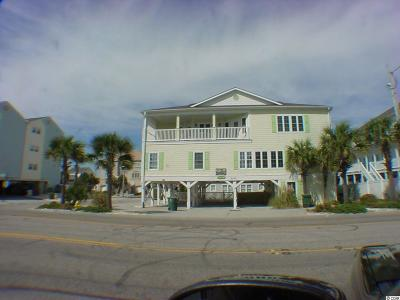 North Myrtle Beach Single Family Home For Sale: 4401 N Ocean Bvld