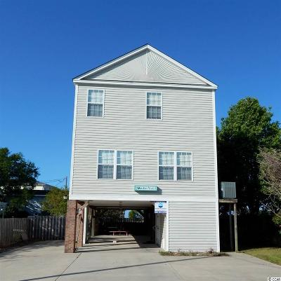 Garden City Beach Single Family Home For Sale: 213 Seabreeze Drive