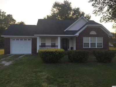 Loris Single Family Home For Sale: 2965 Mt. Olive Rd.