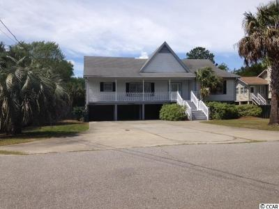 Pawleys Island Single Family Home For Sale: 48 Eutaw Lane