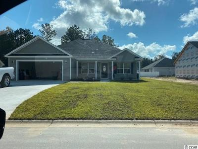 Conway Single Family Home For Sale: Tbb4 Hampton Pl.
