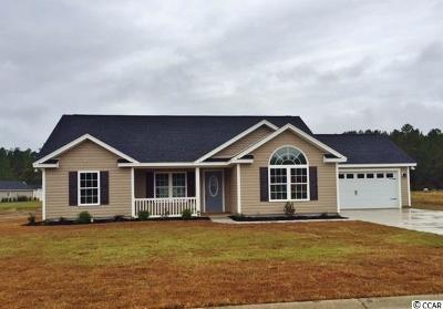 Conway Single Family Home For Sale: Tbb6 Hampton Pl.