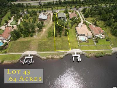 Georgetown County, Horry County Residential Lots & Land For Sale: 9311 Marina Parkway
