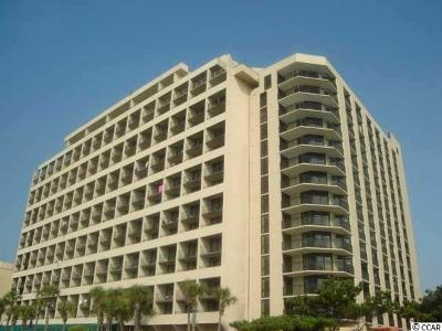 Myrtle Beach Condo/Townhouse For Sale: 7100 N Ocean Blvd. #422