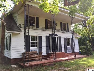 Green Sea Single Family Home For Sale: 3750 Mitchel Sea Rd