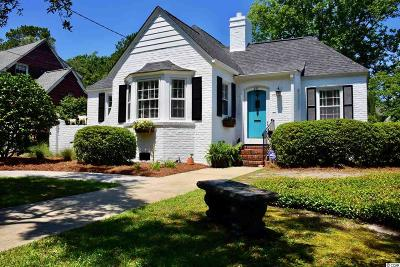 Georgetown Single Family Home Active-Pending Sale - Cash Ter: 327 Meeting St