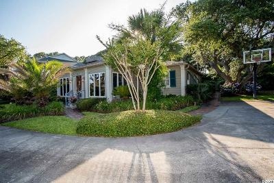 Myrtle Beach Single Family Home For Sale: 6215 N Ocean Blvd