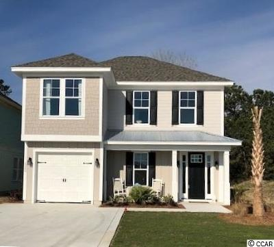 North Myrtle Beach Single Family Home For Sale: 5200 Sea Coral Way