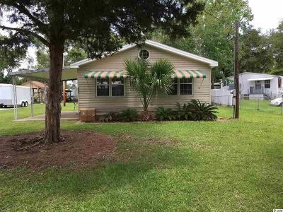 Garden City Beach Single Family Home For Sale: 366 Calhoun Drive