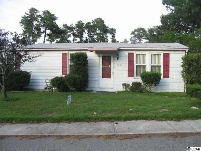 North Myrtle Beach Single Family Home Active-Pending Sale - Cash Ter: 1112 Forest Dr.
